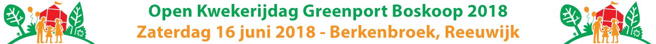 Open Kwekerijdag 16 juni 2018